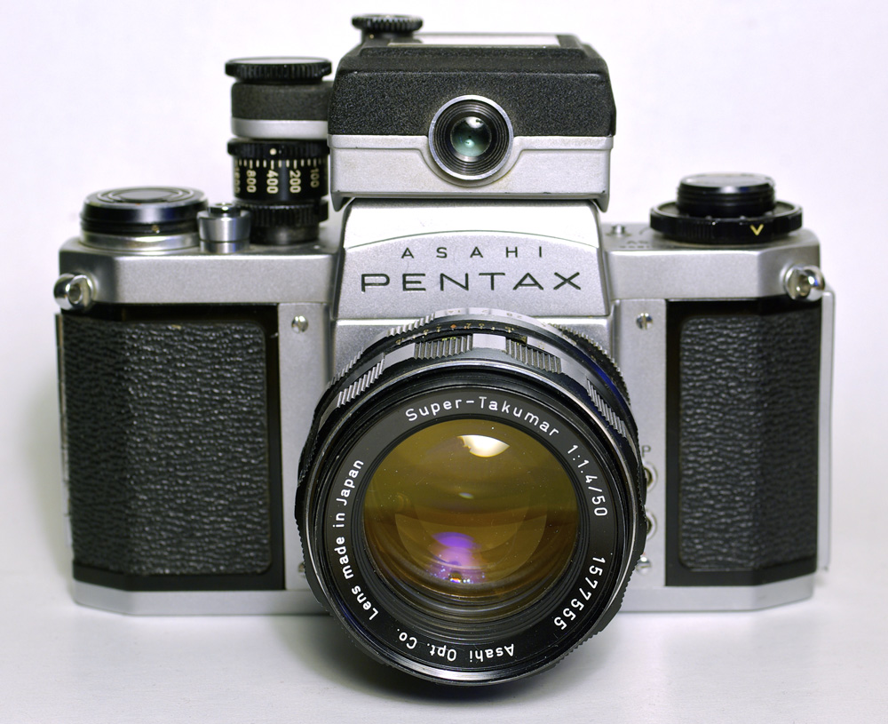 how to use meter on pentax k1000