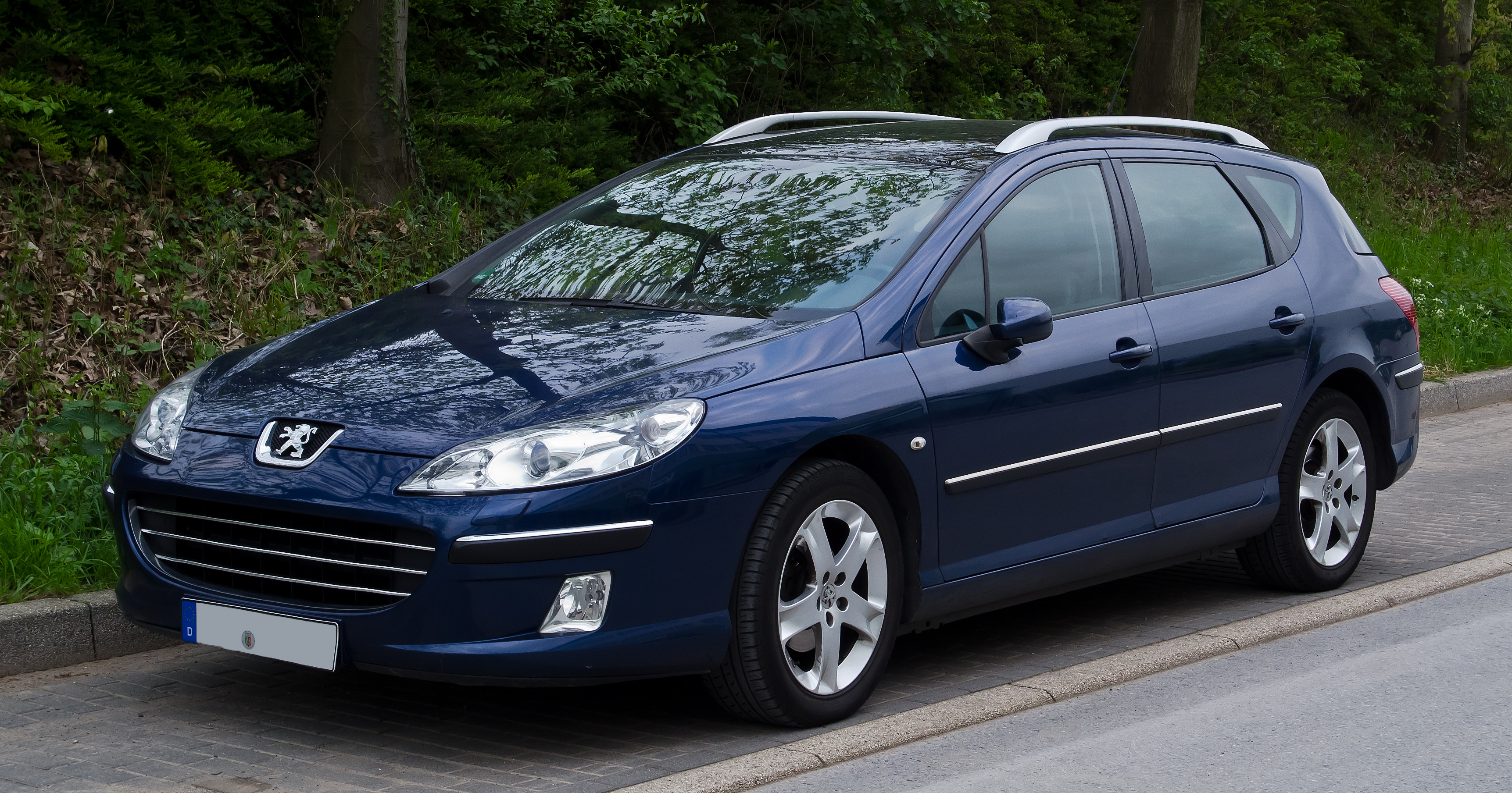 file peugeot 407 sw facelift frontansicht 3 mai 2012 w wikimedia commons. Black Bedroom Furniture Sets. Home Design Ideas