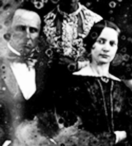 Pierce Mease Butler and his daughter Frances Kemble Butler, 1855