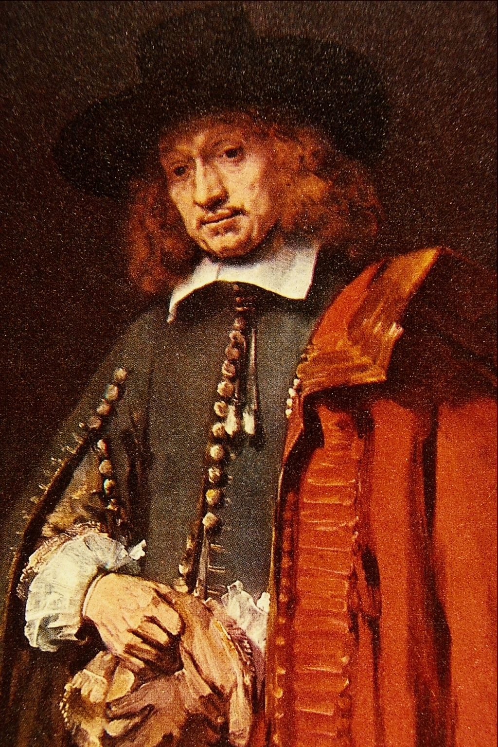 Fileportrait Of Jan Six Rembrandt Harmenszoon Van Rijn Png