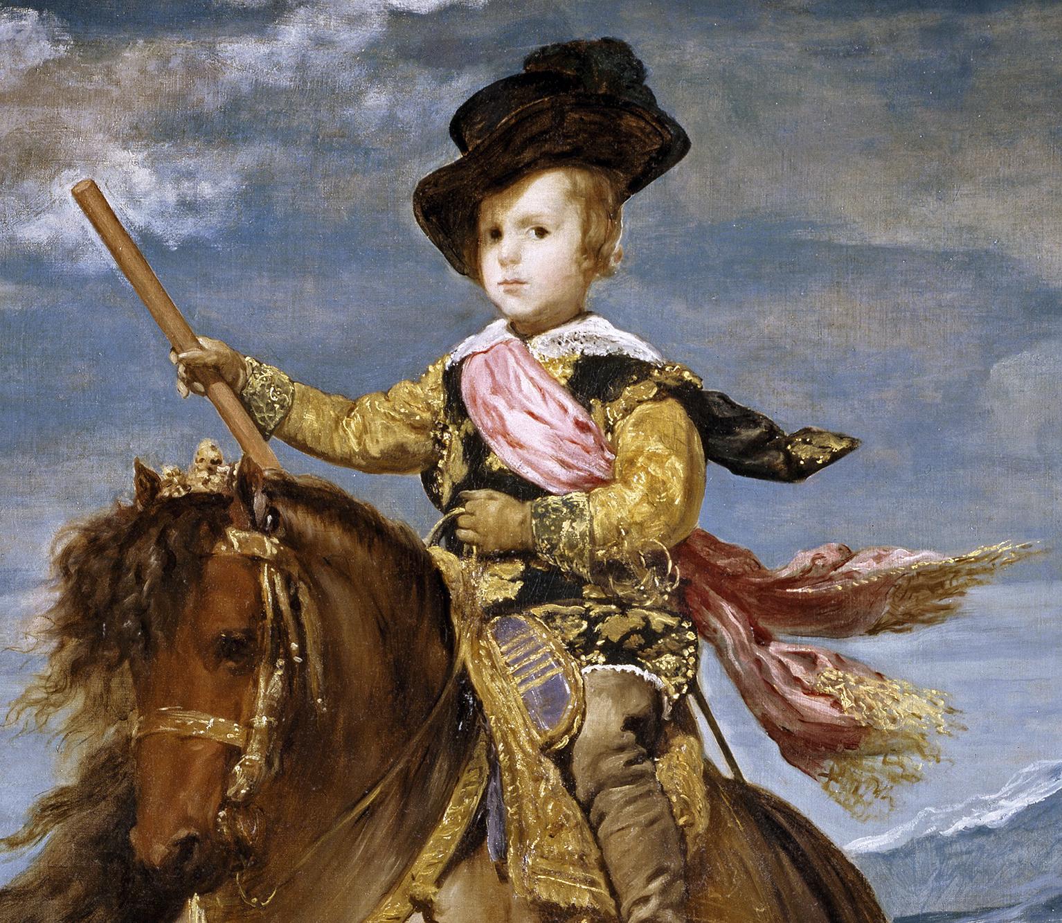 Personnes célèbres réelles ou imaginaires Principe_Baltasar_Carlos_a_caballo_Velazquez_detail