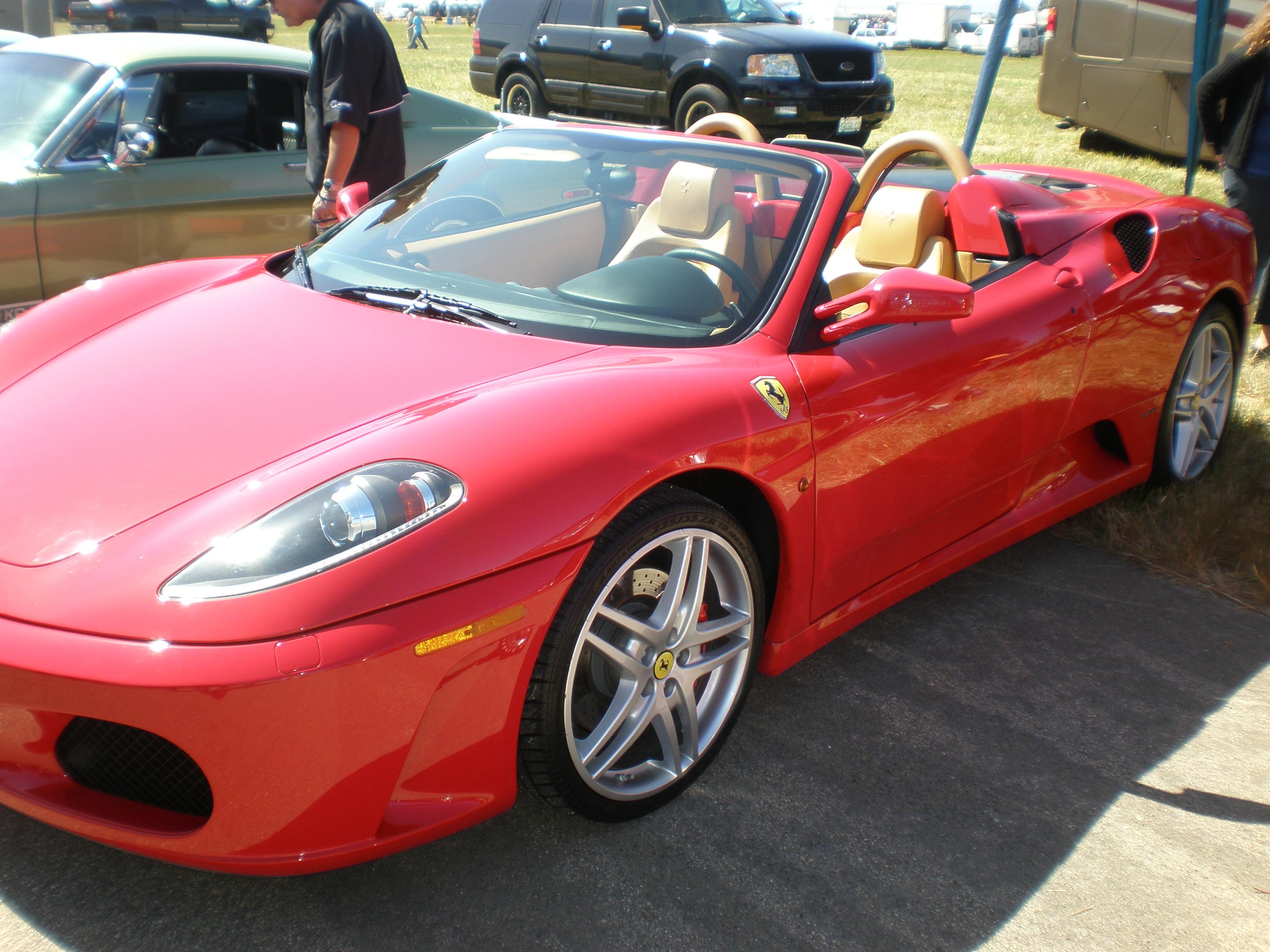 Red Ferrari F430 Spider