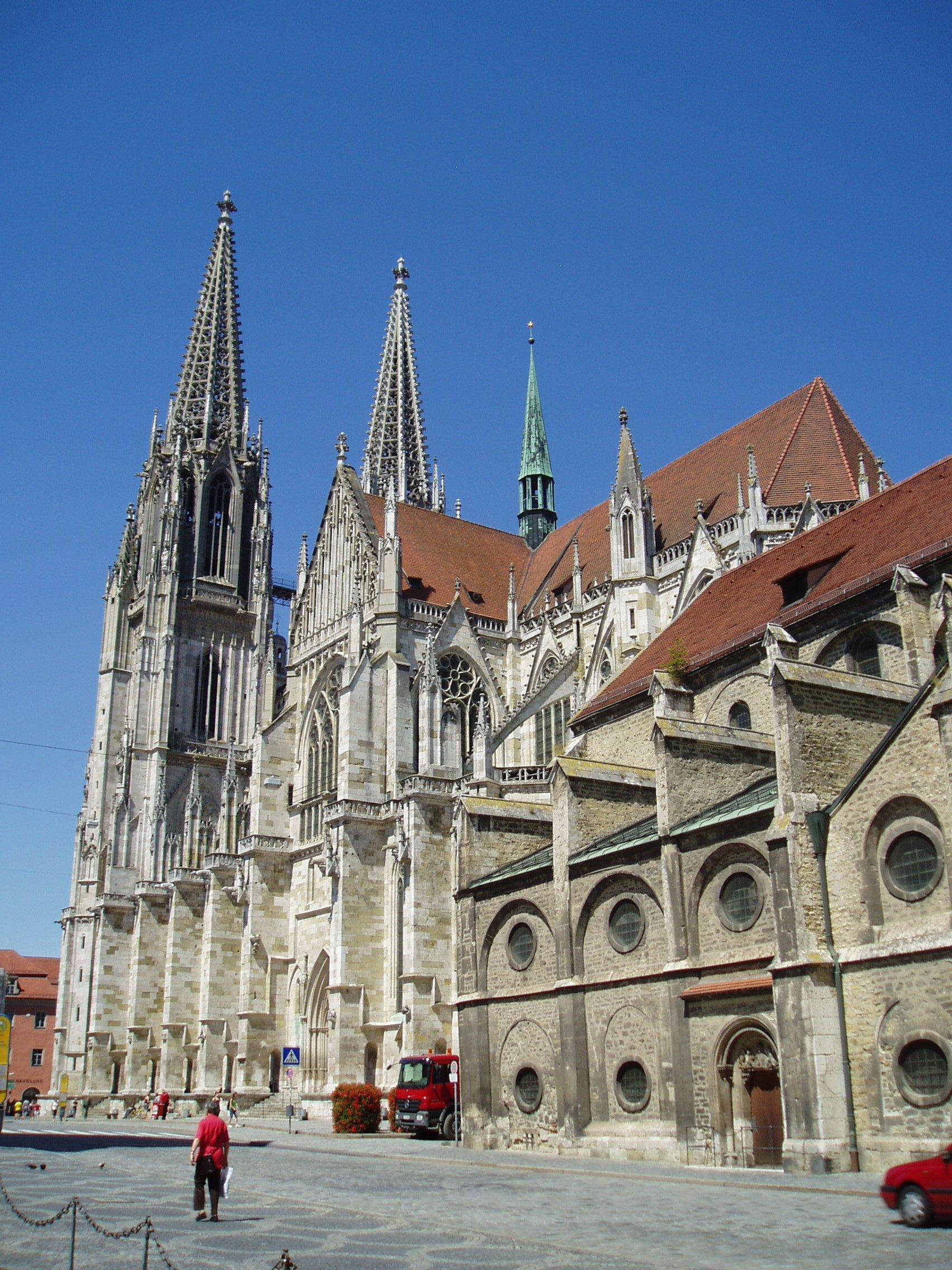 Regensburger Dom Beleuchtung