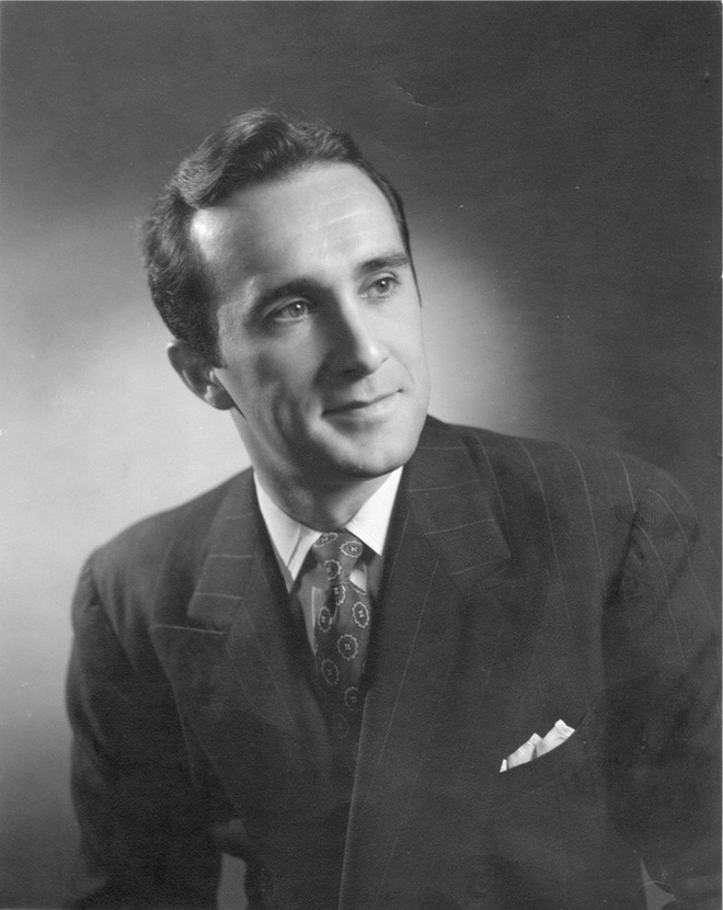 Rex Partington (publicity photo, taken in 1953