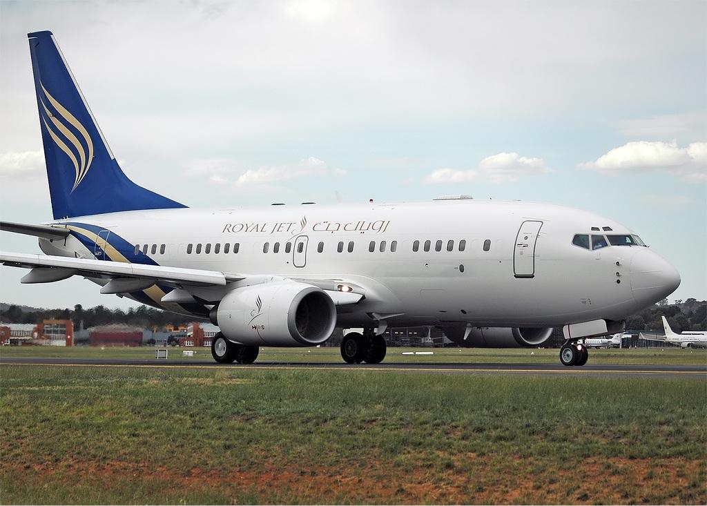 Airline Royal Jet (Royal Jet). Official sayt.2
