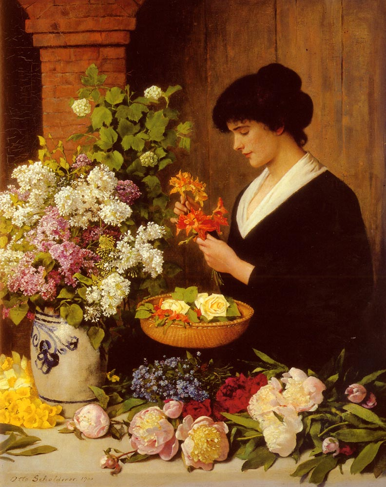 History Of Flower Arrangement Wikipedia
