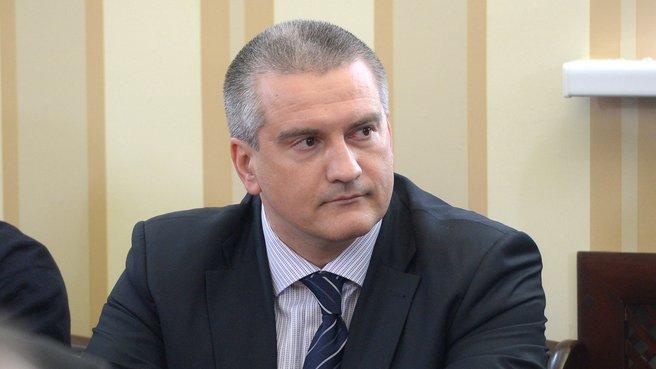 Sergey Aksyonov March 2014