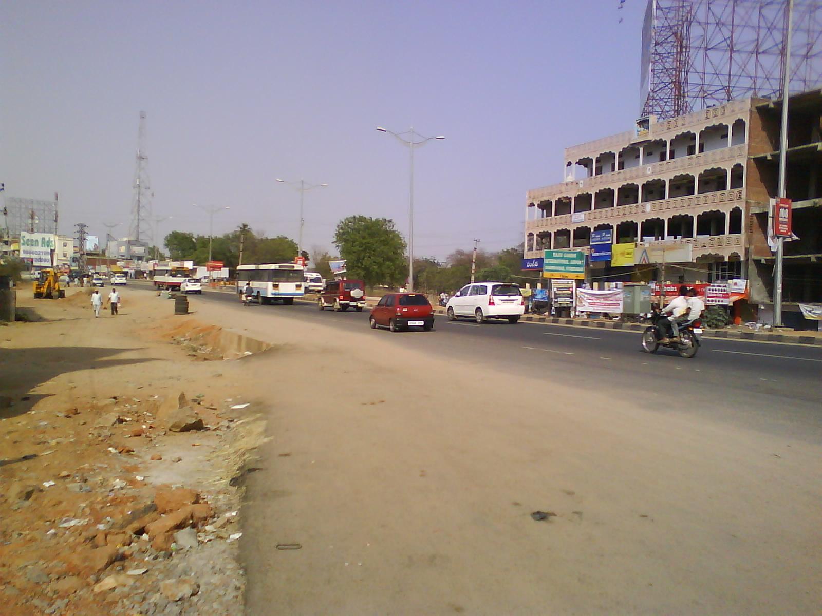 Shamshabad India  city photos : Shamshabad mainroad Wikimedia Commons