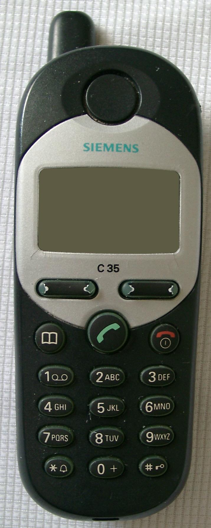 Сотовые телефоны Siemens — Википедия