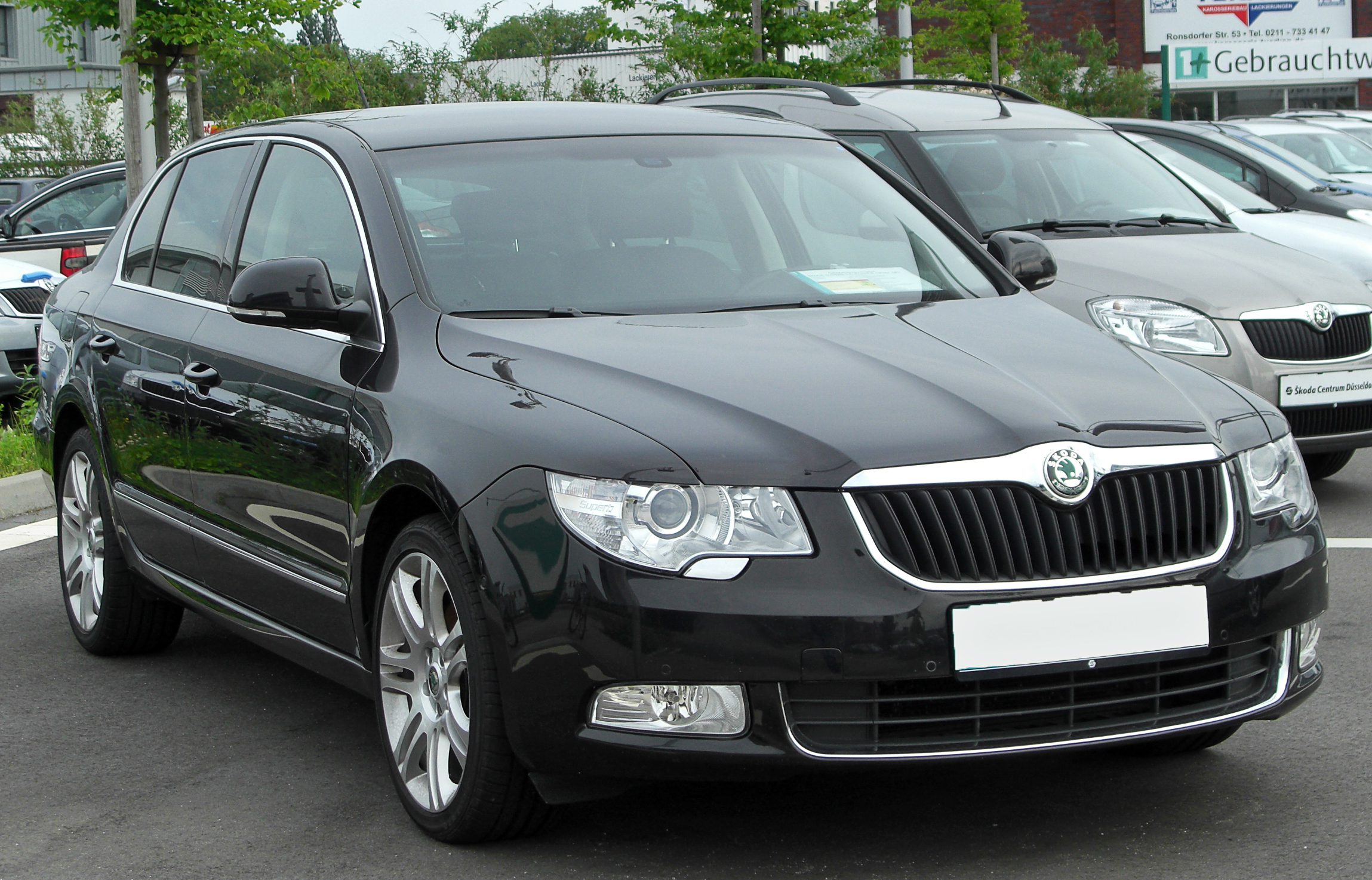 File Skoda Superb Ii Front 20100529 Jpg