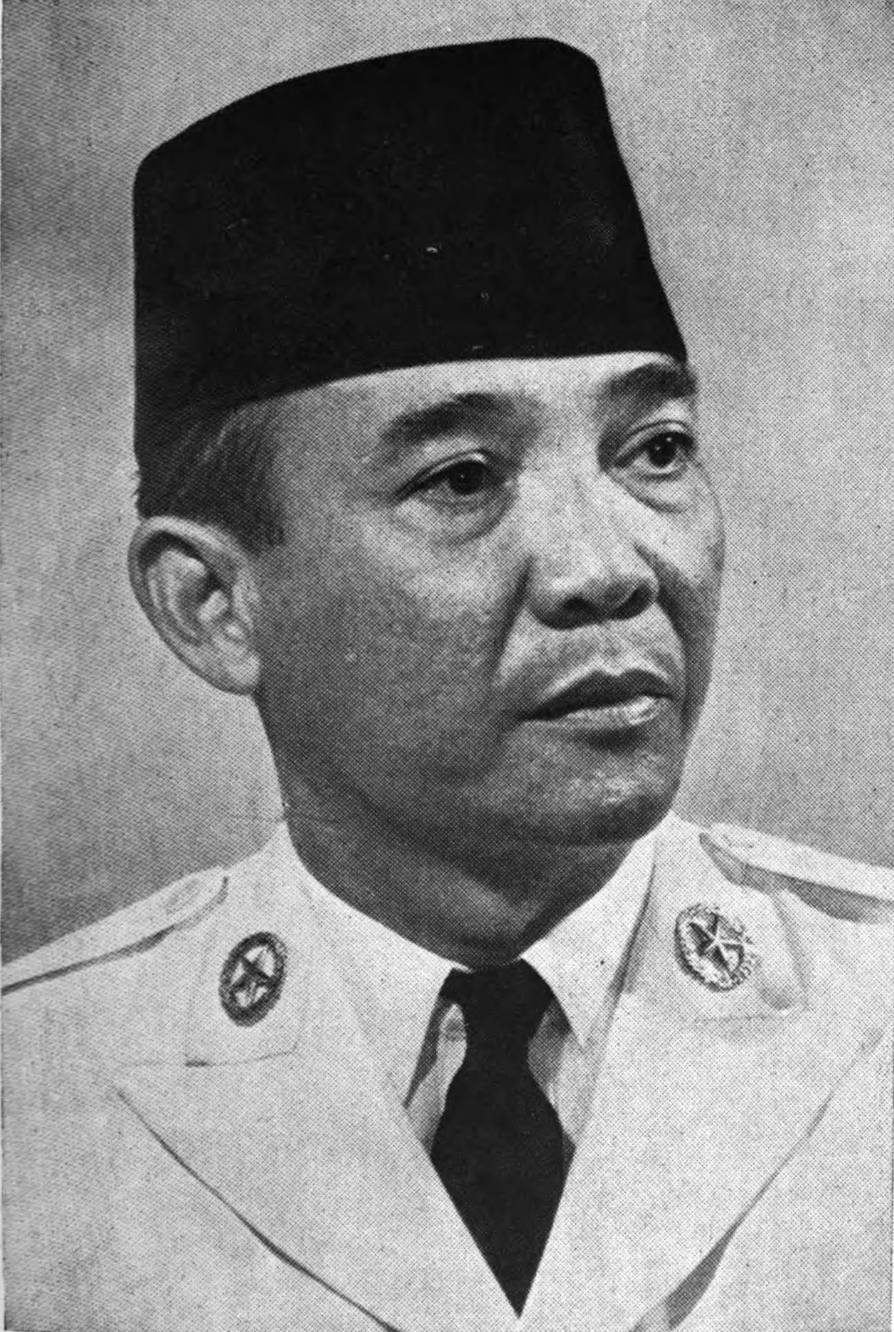 Sukarno, President of Indonesia (1945-1967) in undated photo