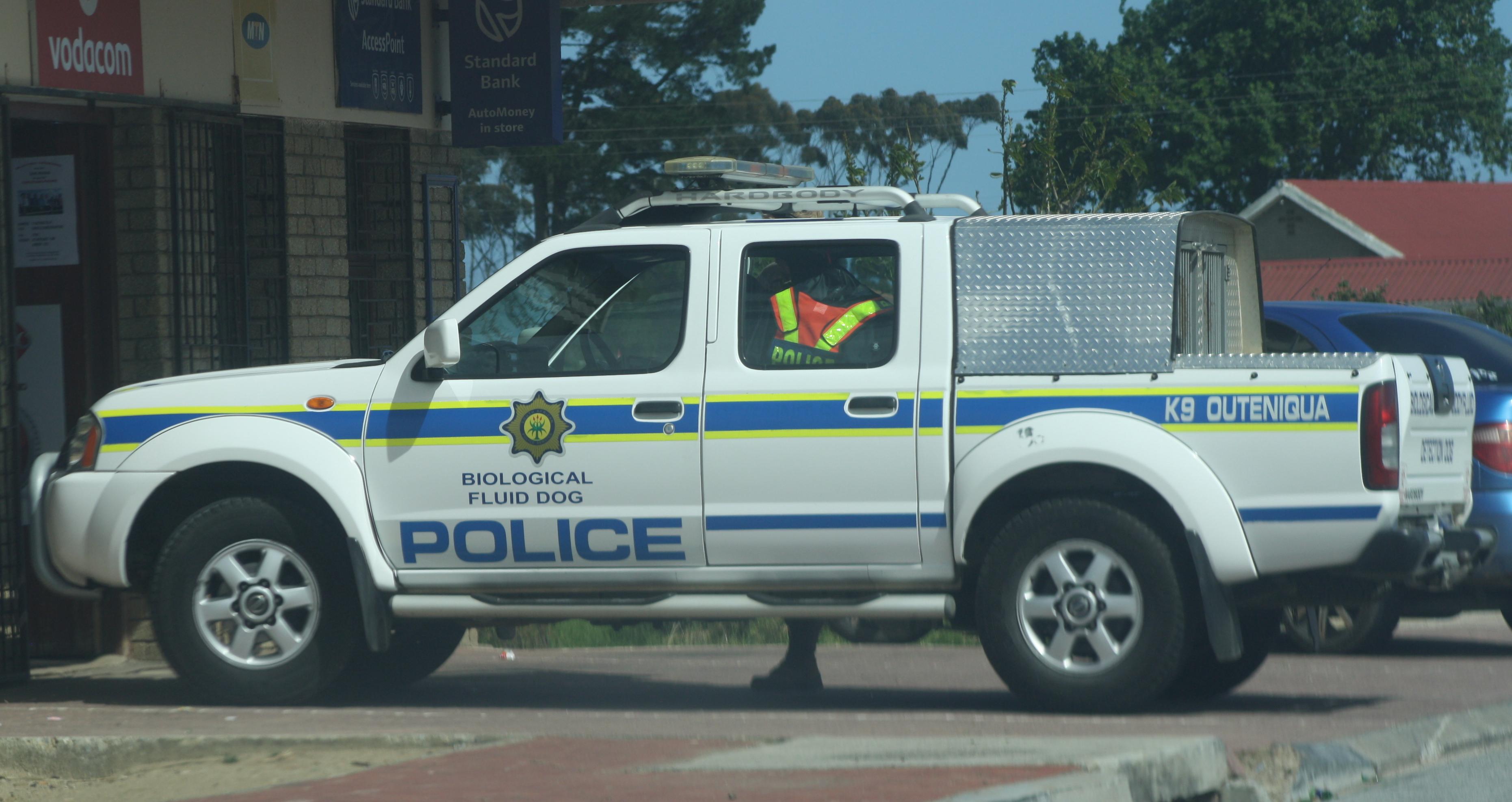 File South African Police K9 Nissan Hardbody 15322276805