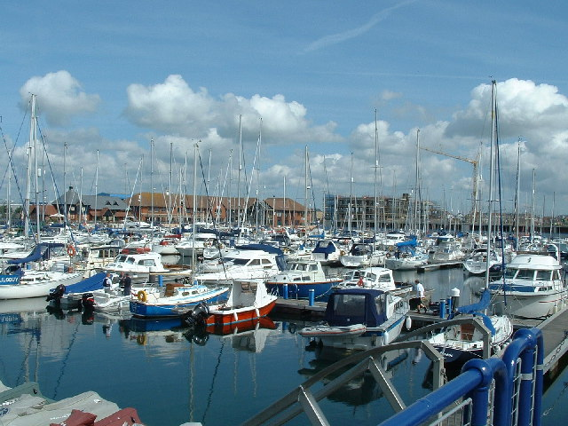 Sovereign Harbour, Eastbourne. - geograph.org.uk - 90017