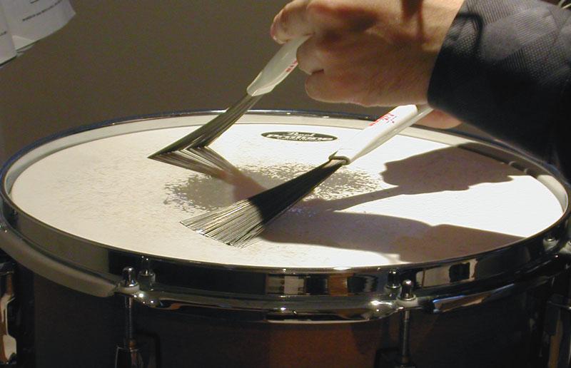 Как сделать щетки для барабанов