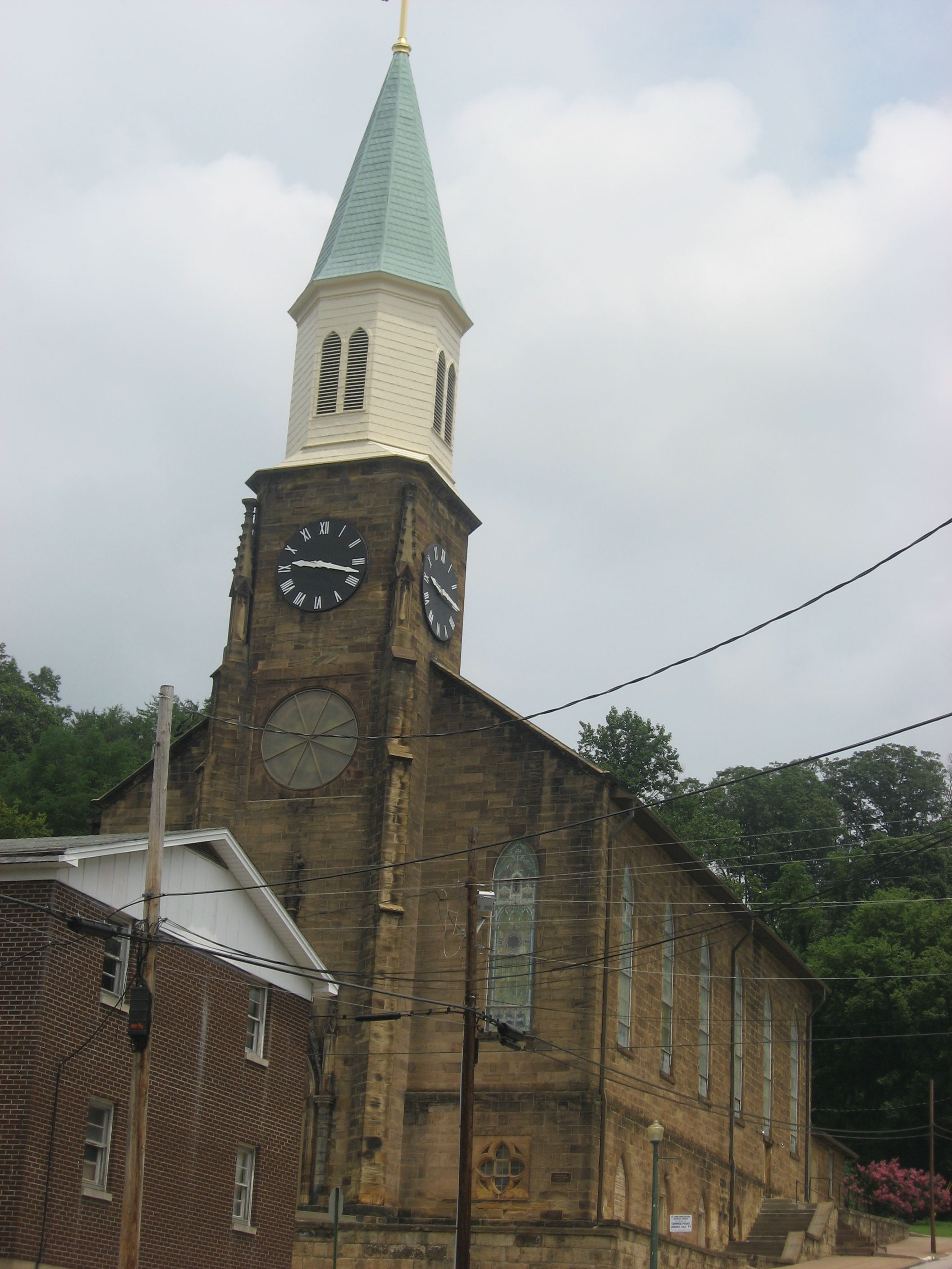 Indiana perry county cannelton - File St Michael S Church In Cannelton Jpg