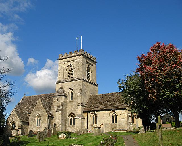 St George's parish church, Brockworth