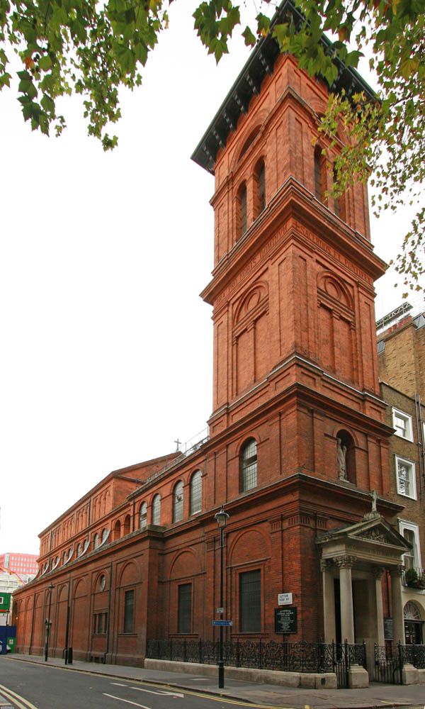 St Patrick's Church, Soho Square