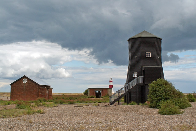 The Black Beacon, Orford Ness - geograph.org.uk - 939025