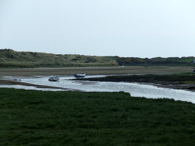 The river at Aberffraw - geograph.org.uk - 176907