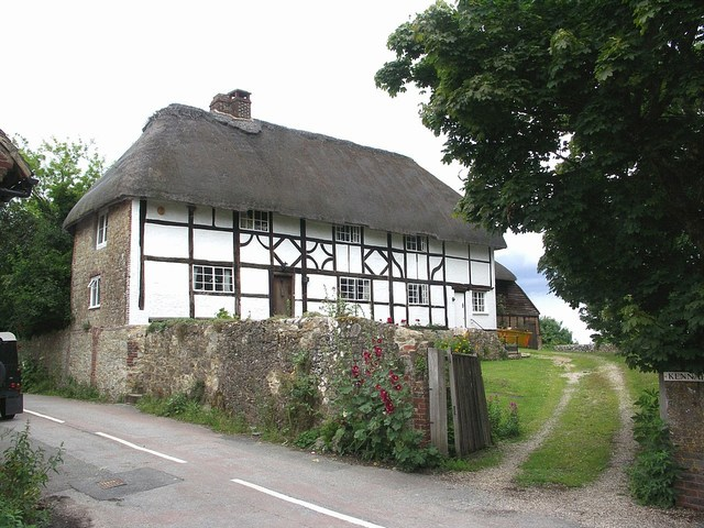 File:Timber-style Thatched Cottage - geograph.org.uk - 484072.jpg