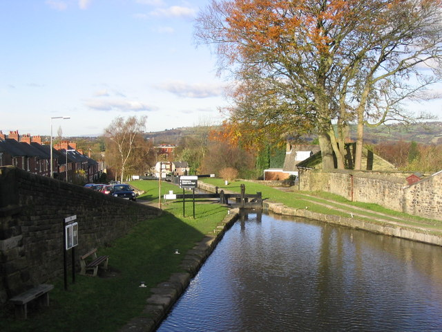 Top Locks, Marple - geograph.org.uk - 717882