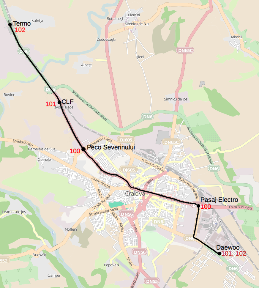 FileTram map of Craiovapng Wikimedia Commons