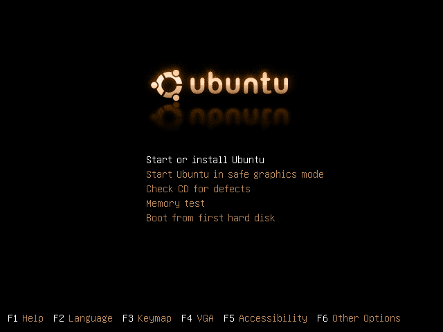 how to change ubuntu boot screen