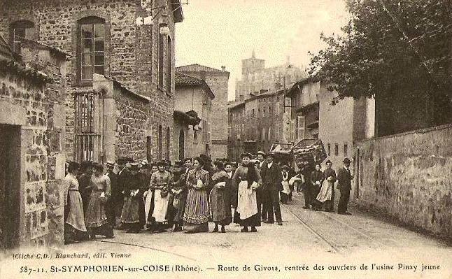 File usine pinay saint symphorien sur coise avant 1914 - Piscine saint symphorien sur coise ...
