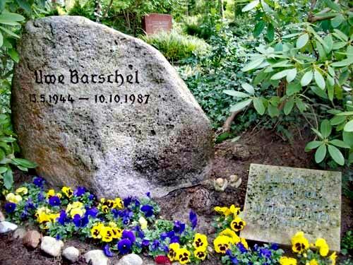 Grab von Uwe Barschel