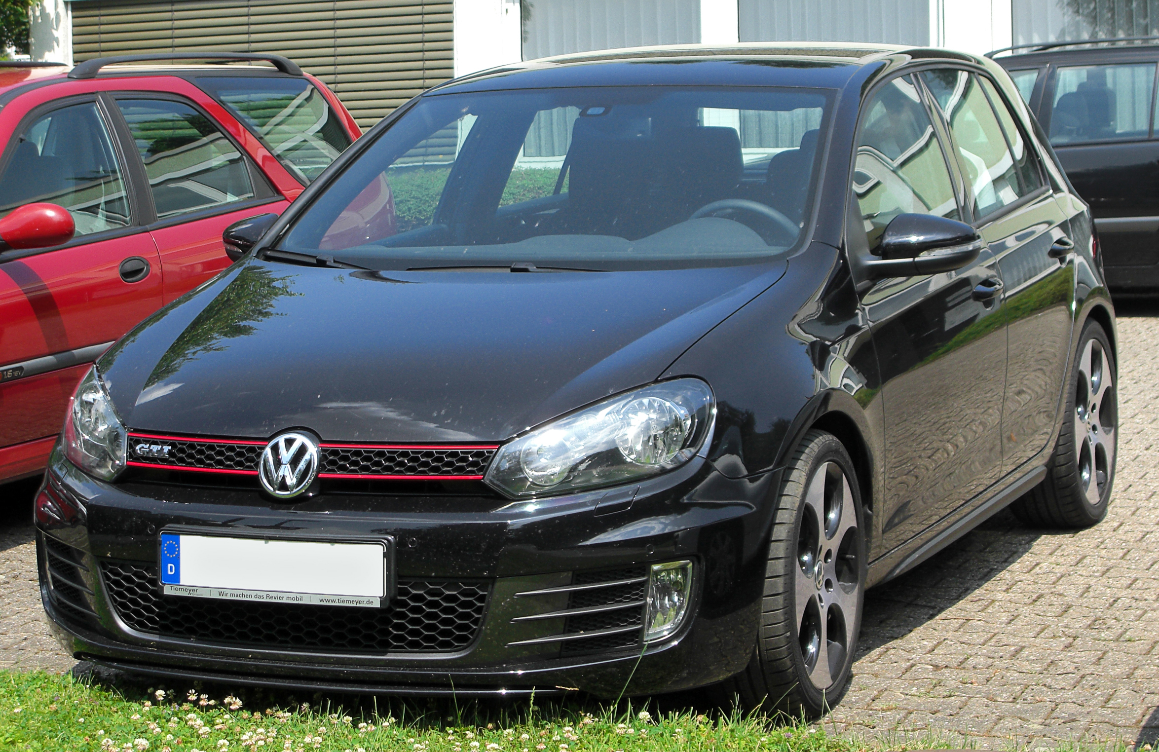 file vw golf vi gti front wikimedia commons. Black Bedroom Furniture Sets. Home Design Ideas
