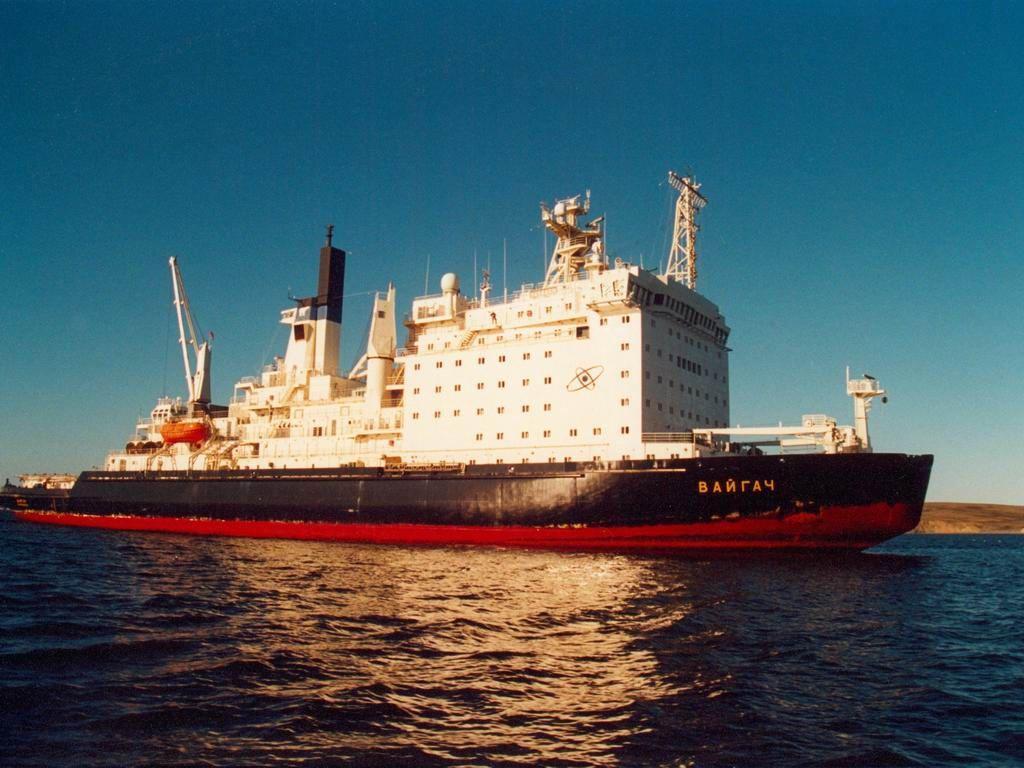 Vaygach (nuclear icebreaker) | Military Wiki | FANDOM ...  Vaygach (nuclea...