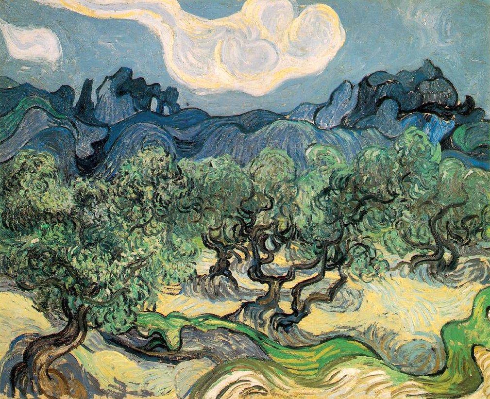 Depiction of Historia del aceite de oliva