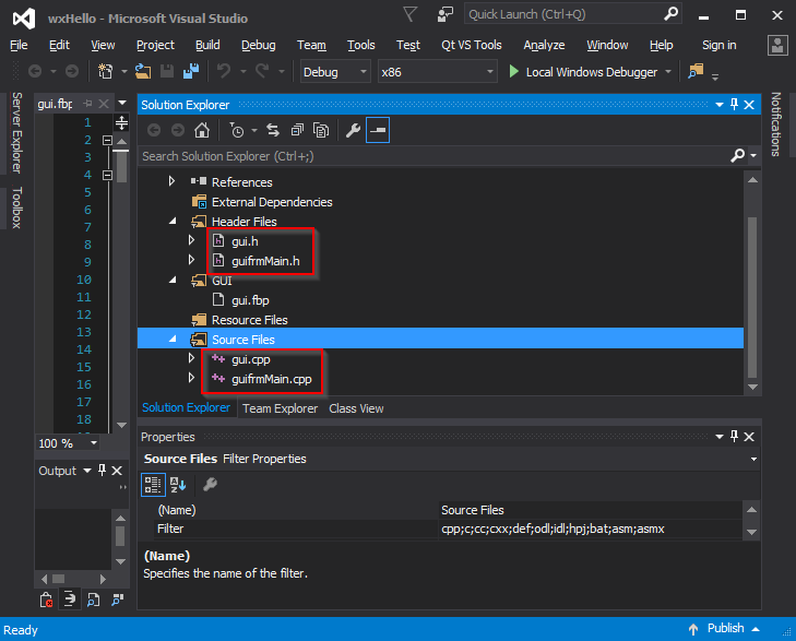 File:Visual Studio 2015 Files Added png - Wikimedia Commons