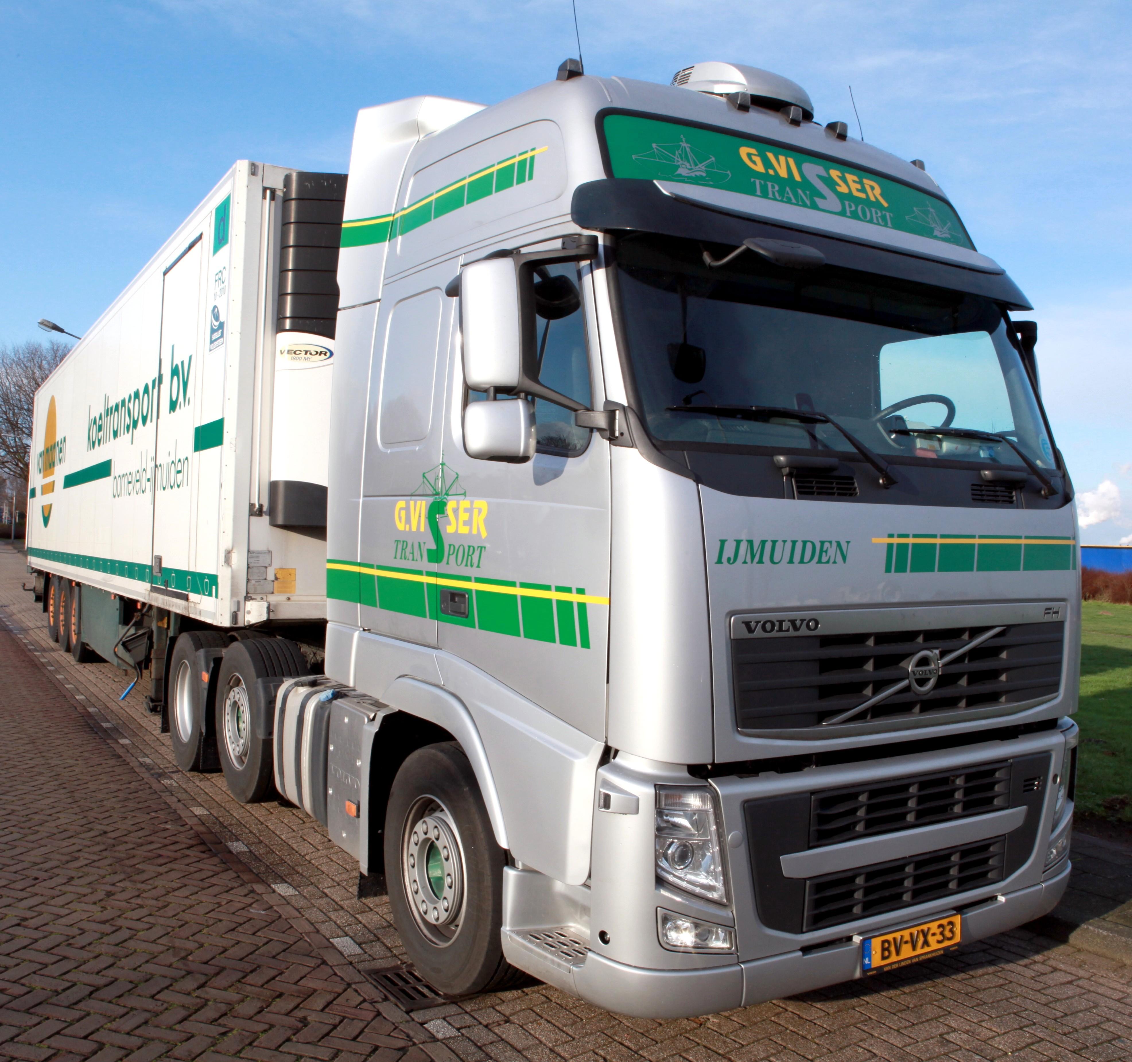 Betere File:Volvo FH G. Visser Transport IJmuiden.jpg - Wikimedia Commons DJ-81