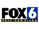 XETV's fourth and final Fox-era logo, used from 2000 to July 2008.
