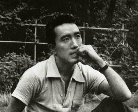 Depiction of Yukio Mishima