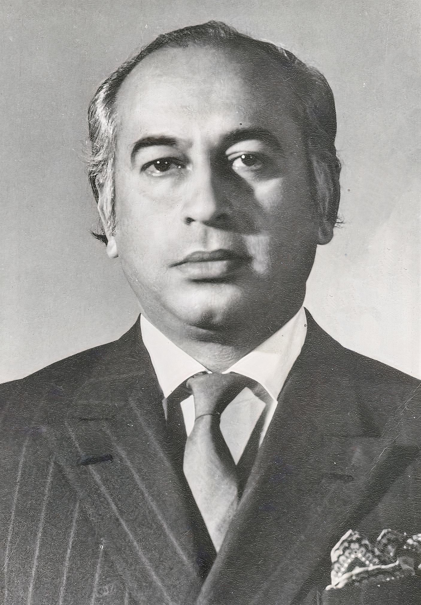 Z A Bhutto (President of Pakistan).jpg
