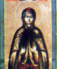 Theodosia of Tyre 1st Century girl who sought to be executed as a martyr to Christianity