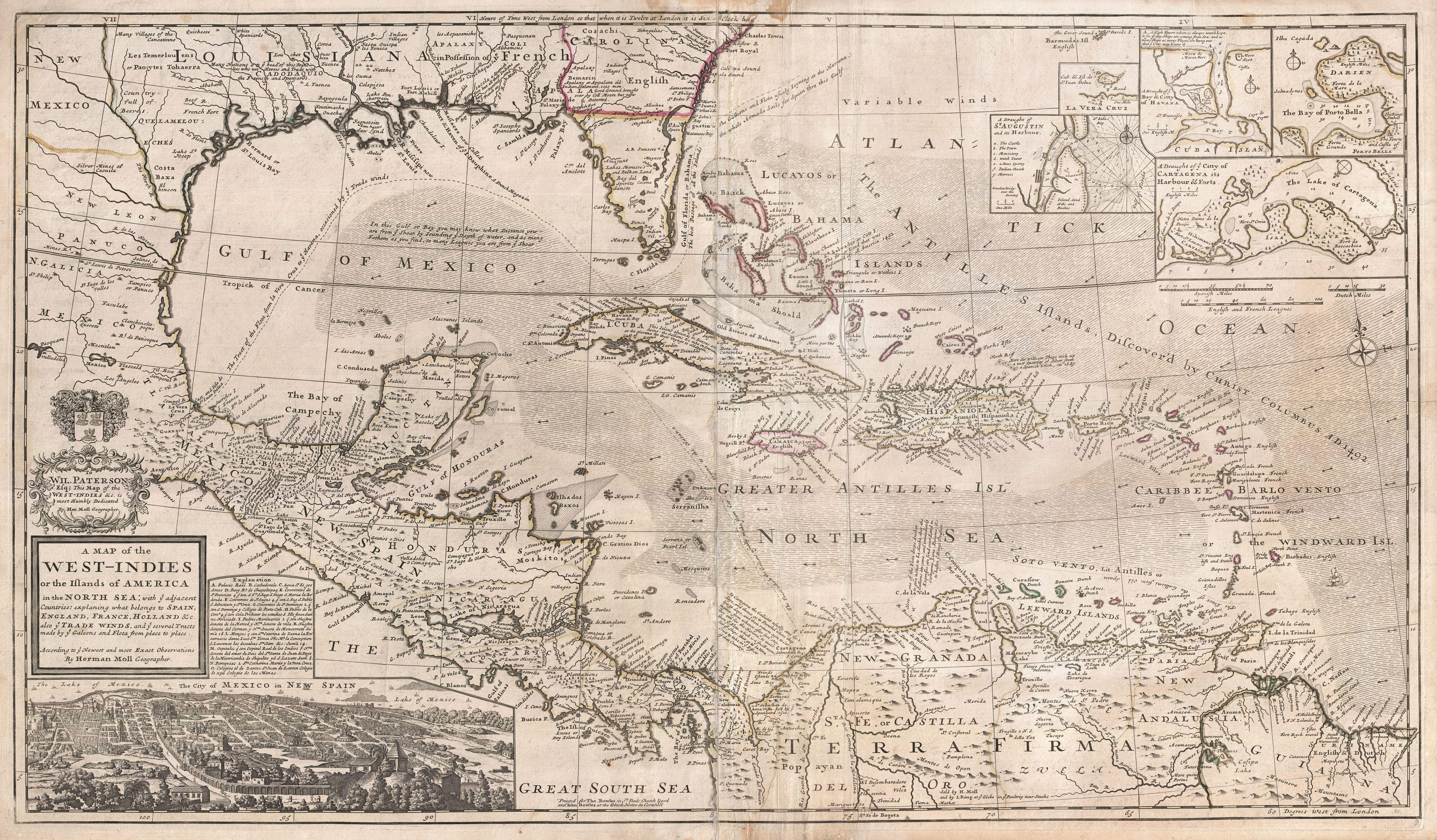1732_Herman_Moll_Map_of_the_West_Indies,