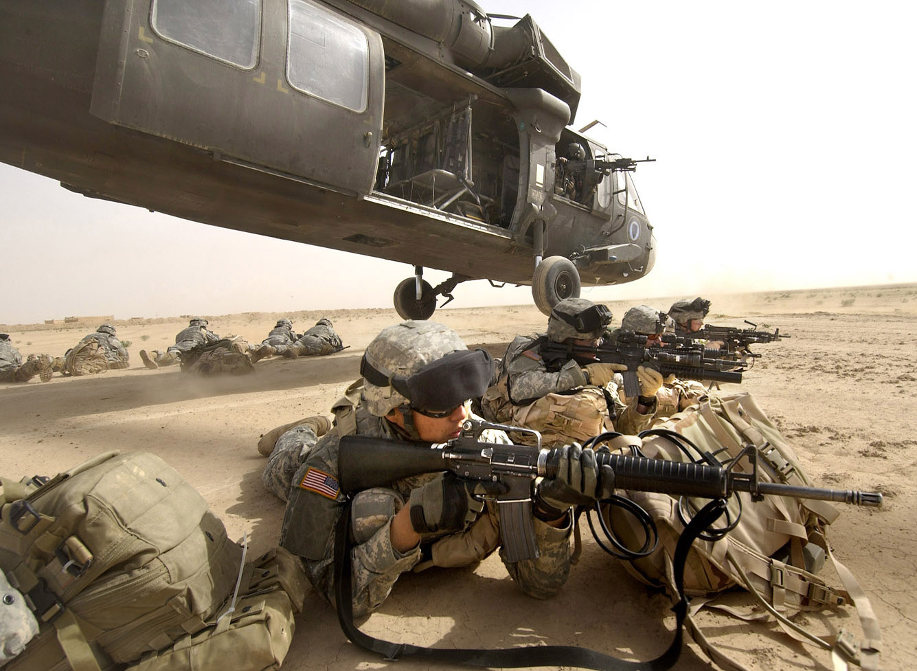 Iraq War Combat Wallpaper