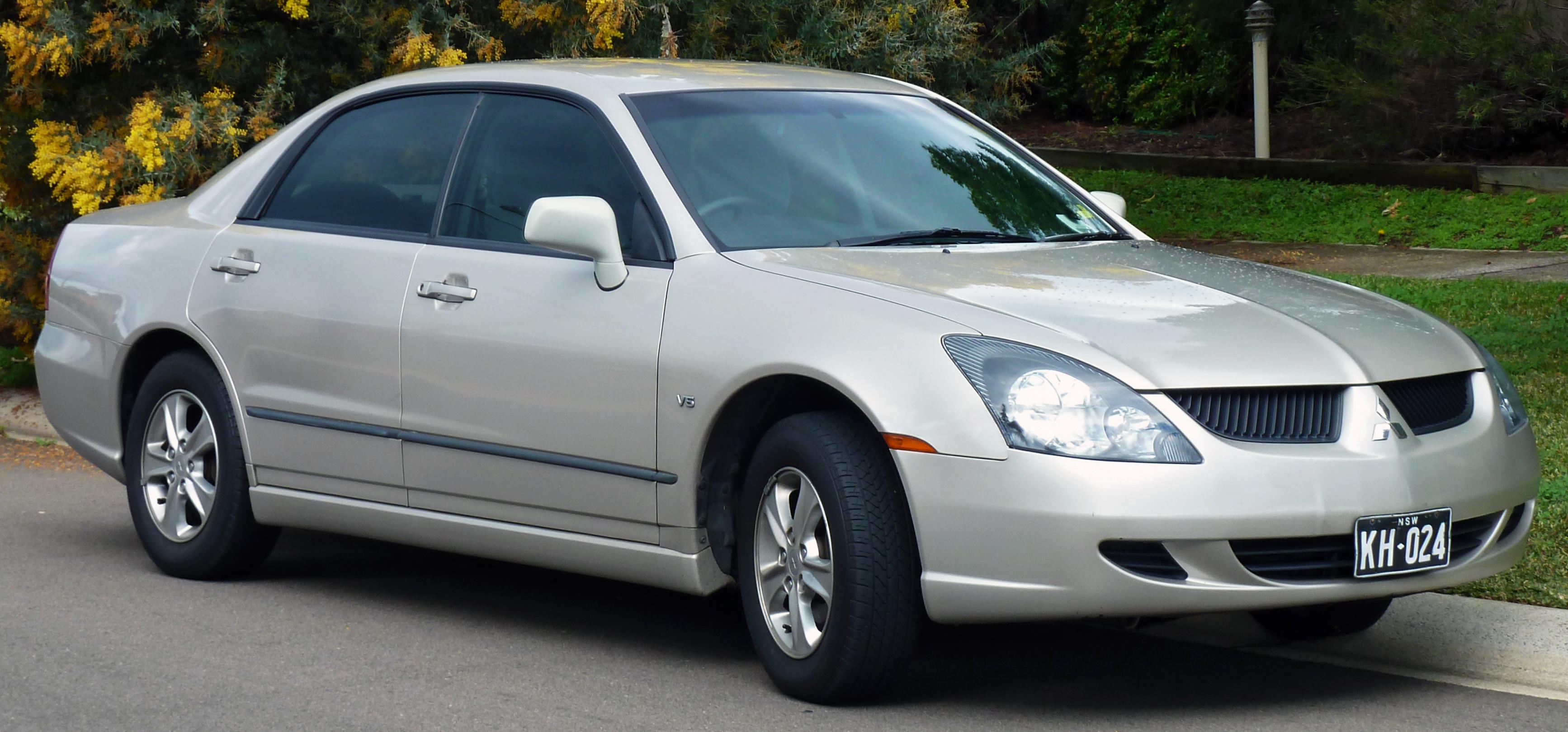 Mitsubishi magna 2004
