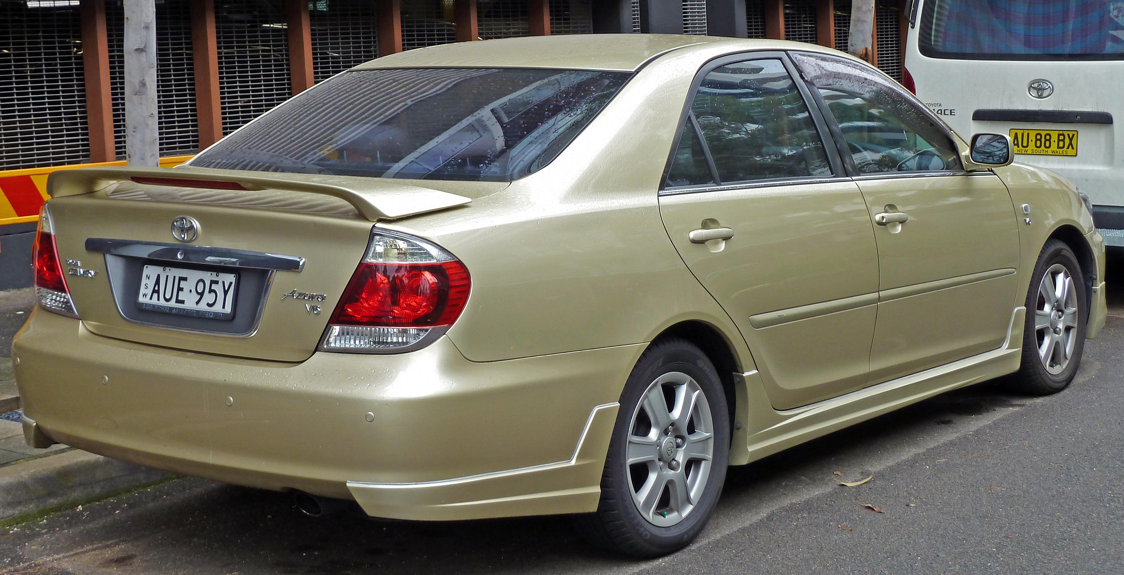 File 2004 2006 Toyota Camry Mcv36r Azura Sedan 01 Jpg