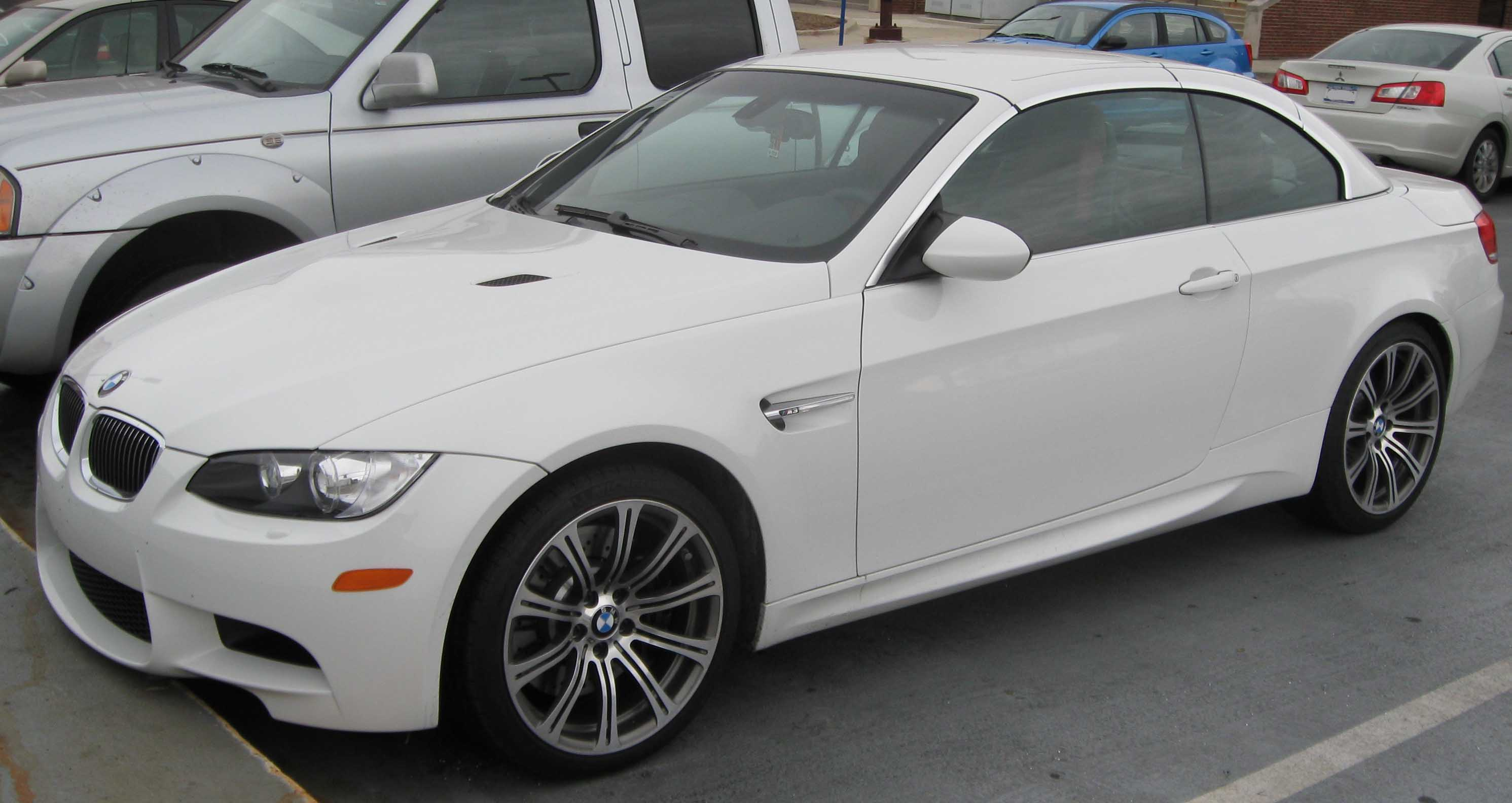 File 2009 Bmw M3 Convertible Jpg Wikimedia Commons