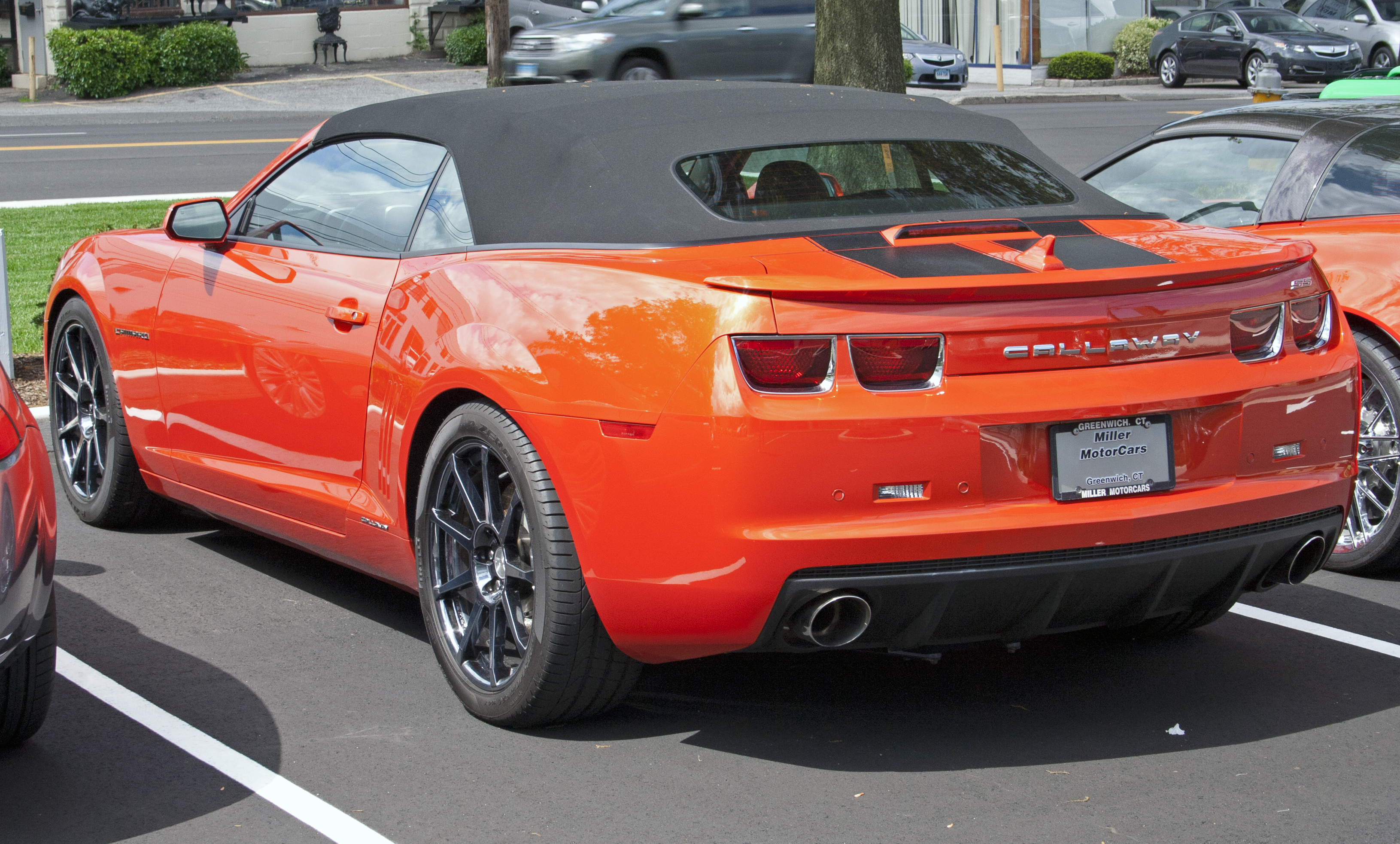 file 2011 chevrolet camaro ss convertible callaway supercharged wikimedia commons. Black Bedroom Furniture Sets. Home Design Ideas