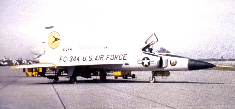 File:64th Fighter-Interceptor Squadron Convair F-102A-75-CO Delta
