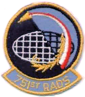 Emblem of the 751st Radar Squadron