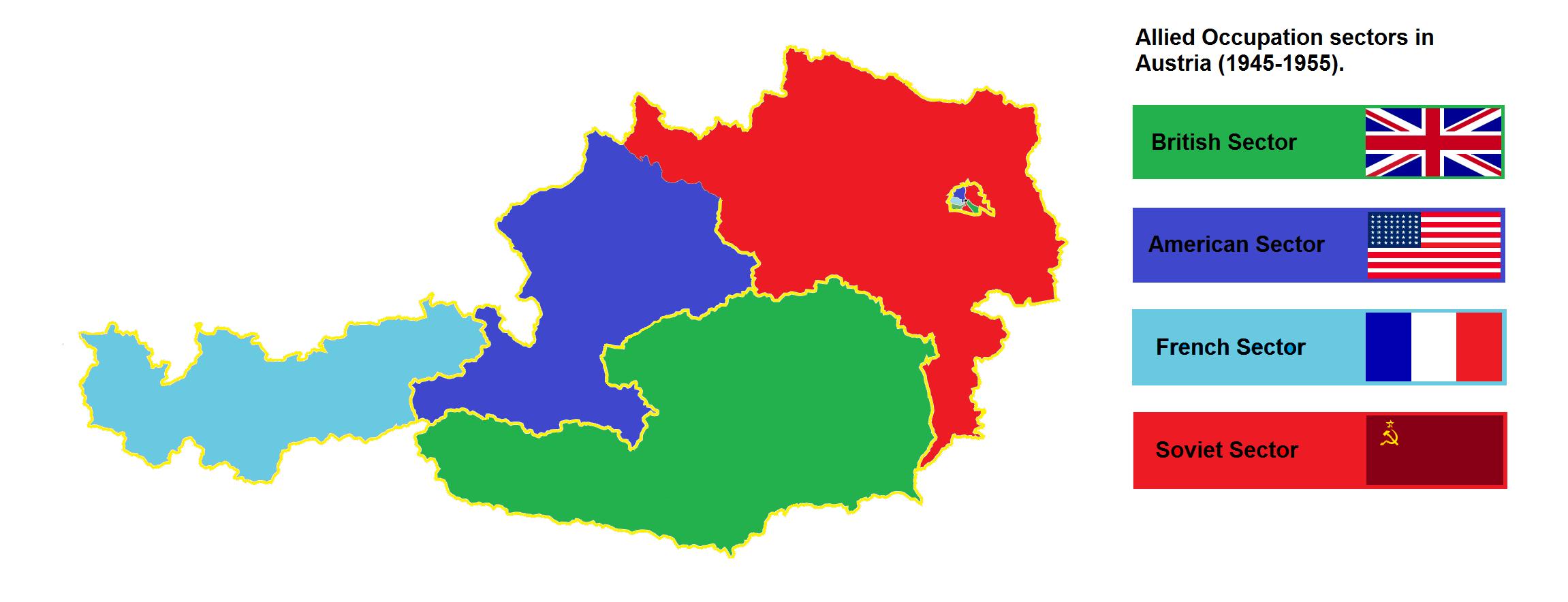 Austria dividida