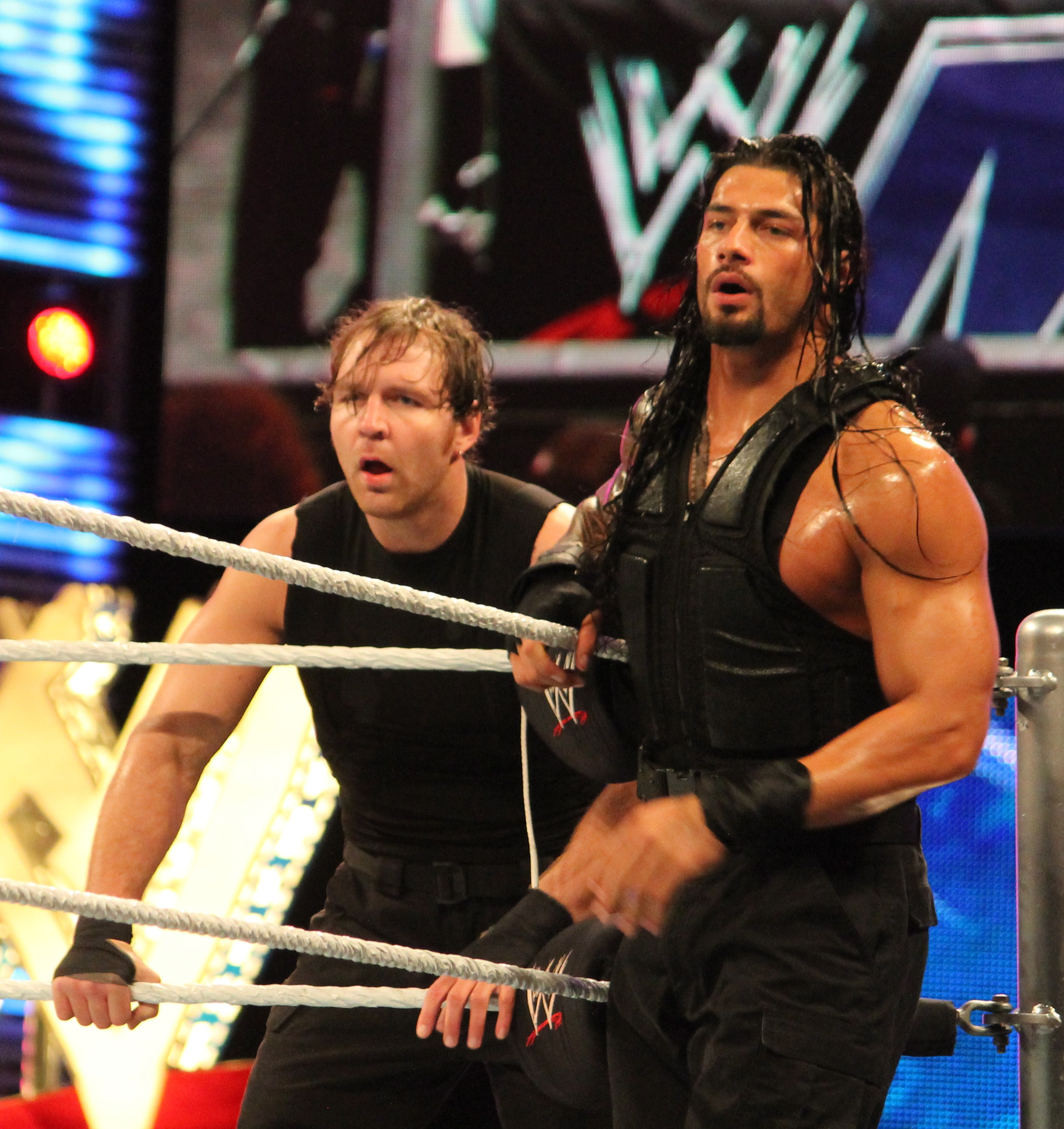 Fileambrose And Reigns In April 2014jpg Wikimedia Commons