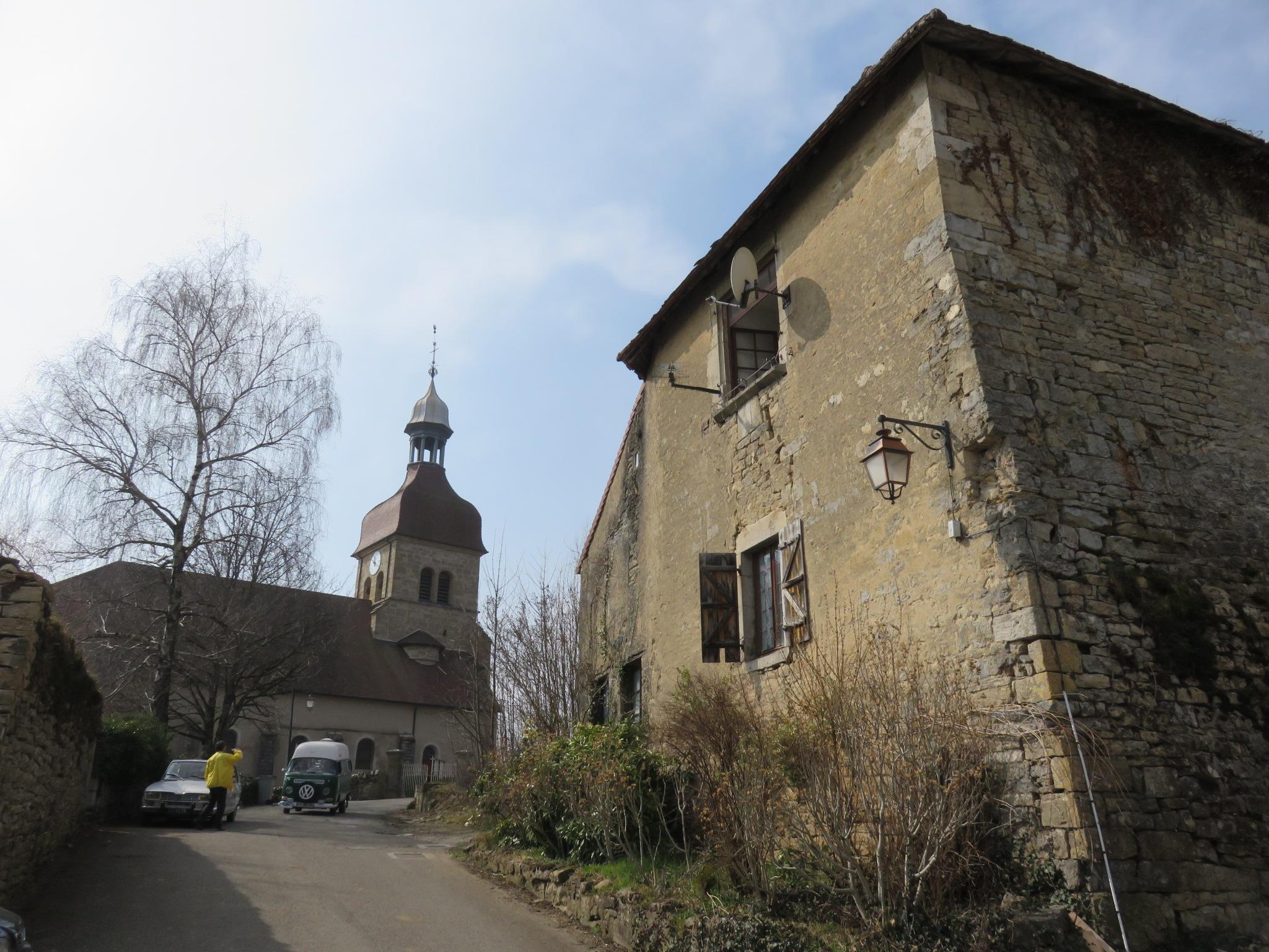 Le Château de Baume, dit prieuré de Saint-Lothain