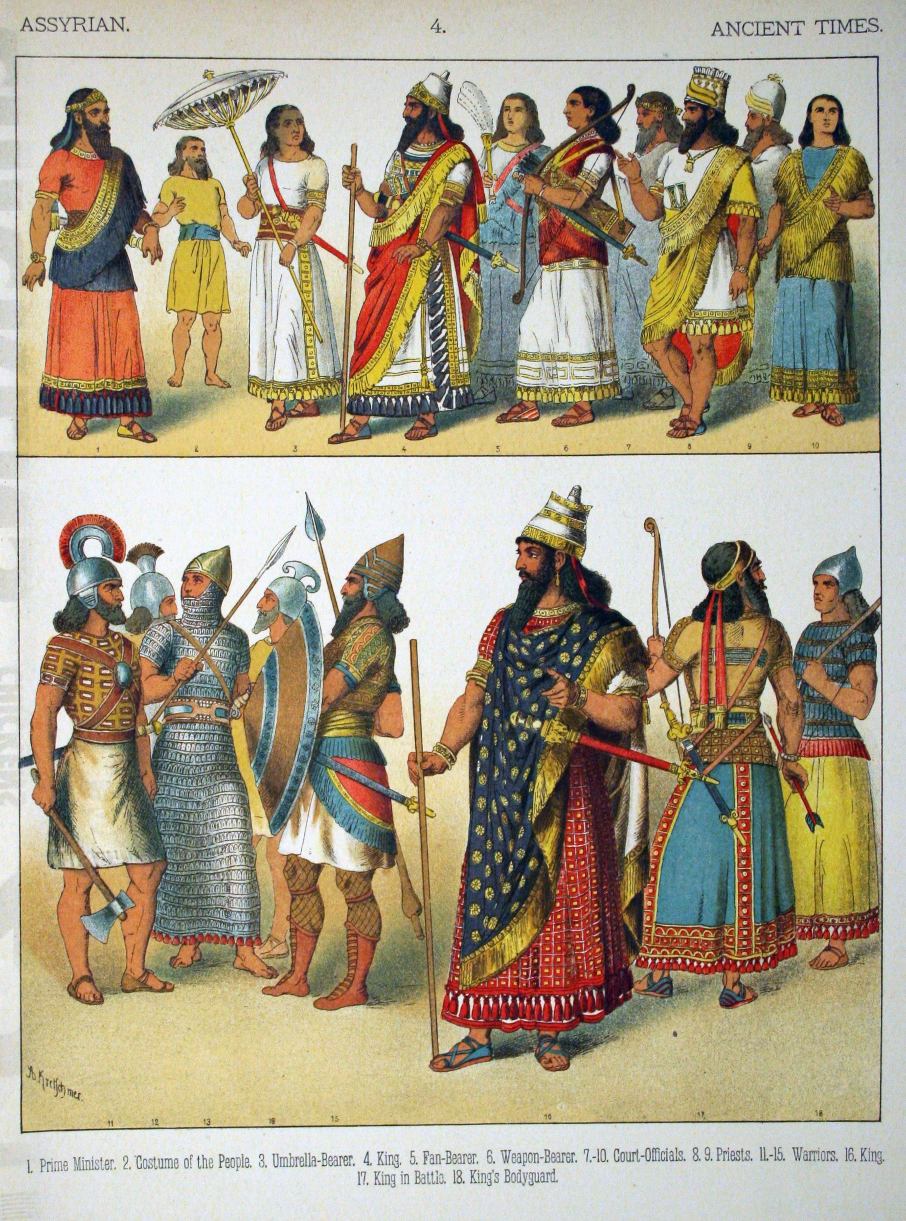 File:Ancient Times, Assyrian. - 004 - Costumes of All ...